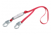 3M Pro Pack 1341001 Shock Absorbing Lanyard, 6 FT