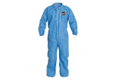 ProShield 125B Blue Coveralls with Elastic Wrists and Ankles (25/cs), Ships FREE
