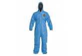 ProShield 127S Blue Coveralls With Hood & Elastic Wrists and Ankles (25/CS), Ships Free