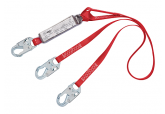 3M Fall ProtectionPRO™ Pack Twin leg Shock Absorbing Lanyard - 6 FT