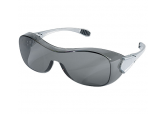 Crews OG112AF Law Safety Glasses over Prescription Safety Glasses Gray Lens
