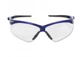 Jackson Nemesis Safety Glasses 47384, AF Lens & Blue Frame