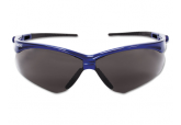 Jackson Nemesis Safety Glasses 47387 with A Smoke Anti Fog Lens