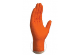 Liberty Glove 2028HO Orange Nitrile Gloves, Powder Free 8 Mil, SHIPS FREE