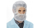Hair Net Beard Guard Combo, 100 ct