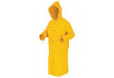 """River City 240C Rain Jacket 49""""s in Length and Pass Through Pockets"""