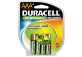 Duracell Rechargeable AAA 4 Pack