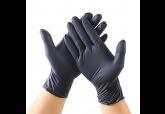 Classic PF Black Nitrile Gloves #6206