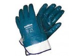 Radnor Fully Coated Nitrile Gloves with Jersey Liner and Safety Cuff