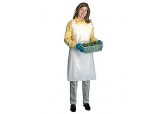 Polyethylene Aprons 28 x 46 inches, 1 Mil, 100 ct