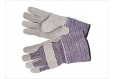 "Shoulder Split Single Leather Palm Glove 4.5"" Cuff"