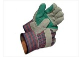 "Select Double Leather Palm Gloves 2.5"" Cuff"