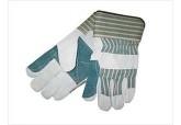 "Shoulder Split Double Leather Palm Glove 2.5"" Cuff"