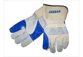 Premium Split Leather Double Palm Leather Gloves