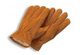 Radnor 7461 Lined Cowhide Cold Weather Drivers Gloves