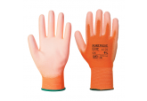 Portwest A120 PU Coated Orange Work Gloves