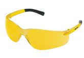 Crews BearKat BK 114 Safety Glasses with Amber Lens