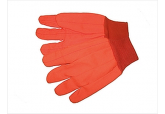 High Visibility Oil Field Gloves, Cotton Oil Field Gloves, Double Palm Oil Field Gloves