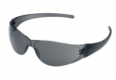 Crews Checkmate CK 112 Safety Glasses with Gray Lens