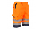 Portwest E043 Hi Visibility Orange Polycotton Shorts