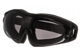 Refuge Safety Goggles with Foam Lining and Grey Lens ERE-8ST