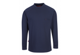 Portwest FR33 FR Navy Long Sleeve FR Shirt