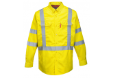 Portwest FR95 Flame Resistant Hi Vis Long Sleeve Shirt