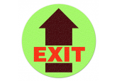 "Glow in the Dark ""EXIT"" Floor Sign"