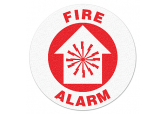 "Anti Slip ""FIRE ALARM"" Floor Sign--17"""