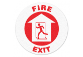 "Anti Slip ""FIRE EXIT"" Floor Sign--17"""