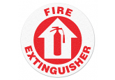 "Anti Slip ""FIRE EXTINGUISHER"" Floor Sign--17"""