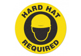 "Anti Slip ""HARD HAT REQUIRED"" Floor Sign--17"""