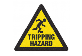 "Anti Slip ""TRIPPING HAZARD"" Floor Sign--17"""