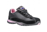 Portwest FW39 Women's Pink Steel Toe Shoes, SHIPS FREE