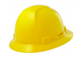 Briggs Full Brim Hard Hat, Yellow HBFE-7L