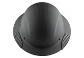 Carbon Fiber Matte Black Full Brim Hard Hat HDC-17KG w/ FREE SHIPPING
