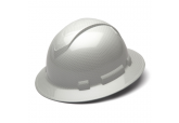 Pyramex RidgeLine Shiny White Graphite HP54116S Full Brim
