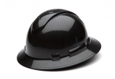 Pyramex RidgeLine Shiny Black Graphite HP54117S Full Brim