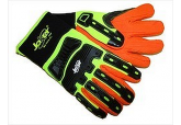 Hi- Viz Joker MX2545 Old School Impact Glove, oil rig gloves