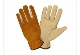 Split back leather drivers gloves