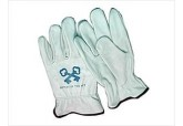Cowhide leather driving work gloves