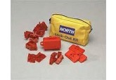 North Safety Electrical Lockout Pouch