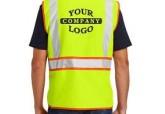 Hi Viz Safety Vest with Company Logo