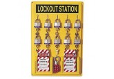 North Safety Lockout Station 10 Units 105F