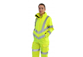 Portwest LW70 Women's Hi Viz Breathable Rain Jacket