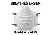 Moldex 4200N95 AirWave Respirator, dust mask