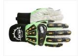 Warm Weather Oil Field Gloves, Joker Impact Resistant Gloves, Cotton Palm Gloves