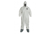 ProShield NexGen NG122 Coveralls with Attached Hood and Boots, Ships FREE