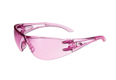 Radians Optima 06767ID Women's Safety Glasses with Pink Lens