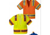 Class 2 Safety Vest with Sleeves & Zipper US373
